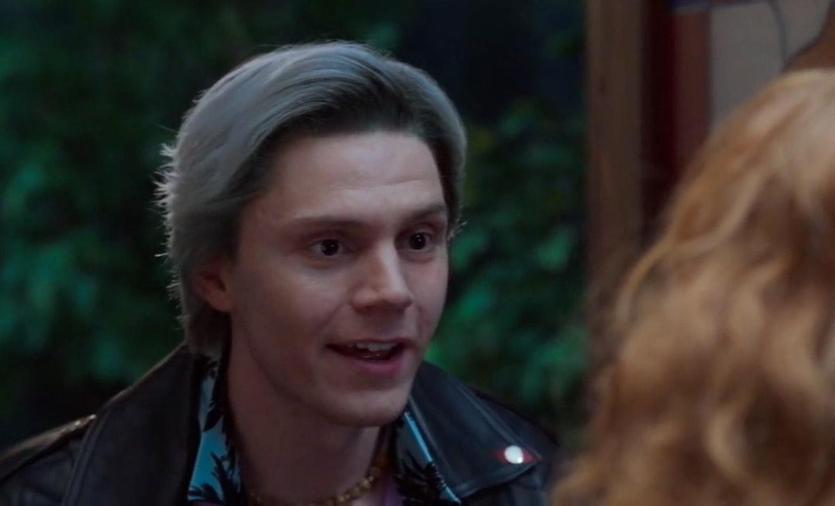Evan Peters reprised his role as Pietro Maximoff AKA Quicksilver in 'WandaVision,' even though he di...