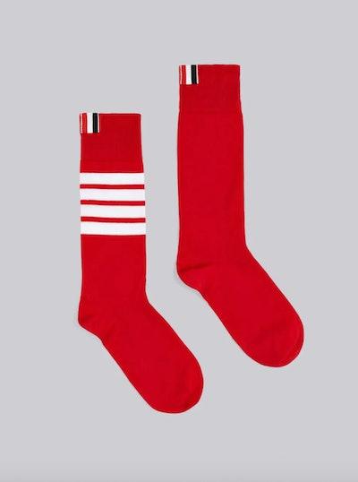 Red Lightweight Socks