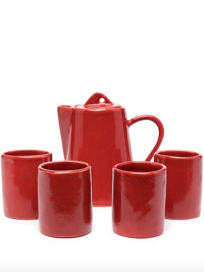 CNY Ceramic Tea Set