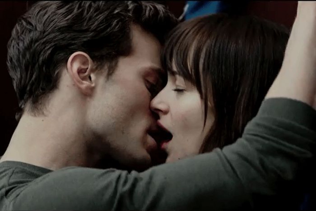 Ana and Christian sex scene from 'Fifty Shades of Grey'
