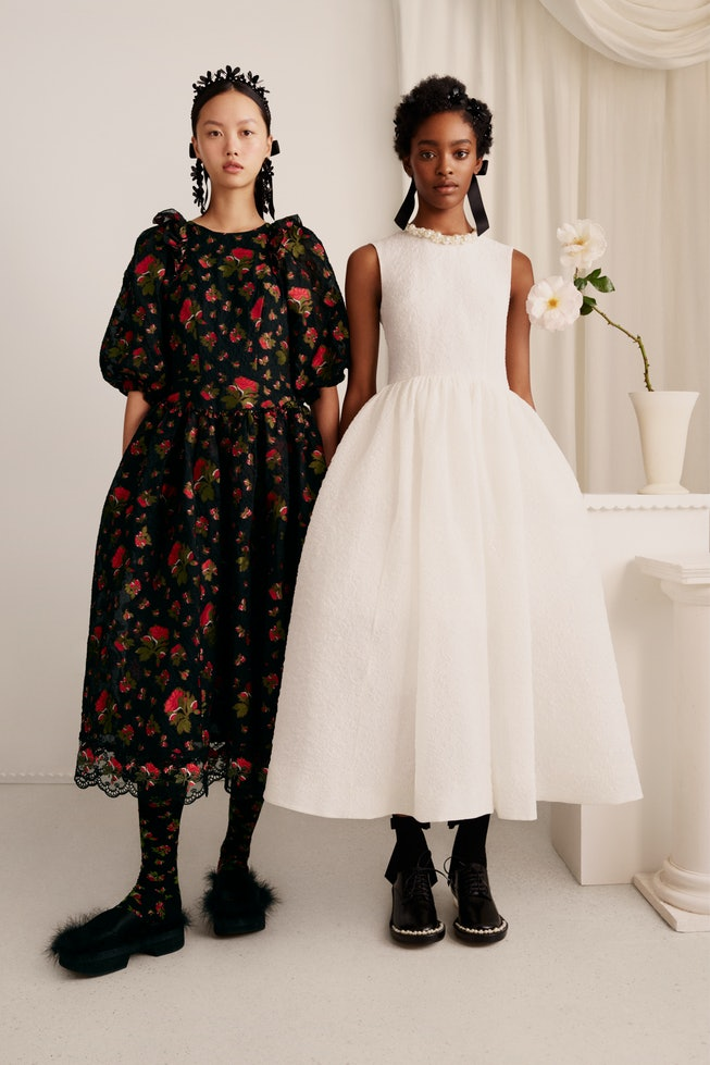 Simone Rocha x H&M Reveal The Lookbook For Their Upcoming Collab.