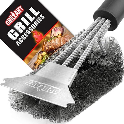GRILLART Grill Brush and Scraper