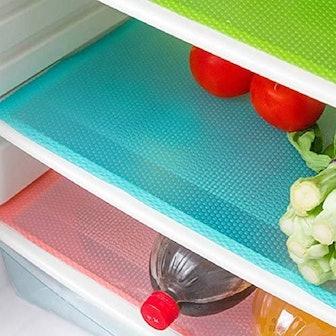 E-lishine Refrigerator Liners (4-Pack)