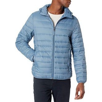 Amazon Essentials Packable Hooded Puffer Jacket