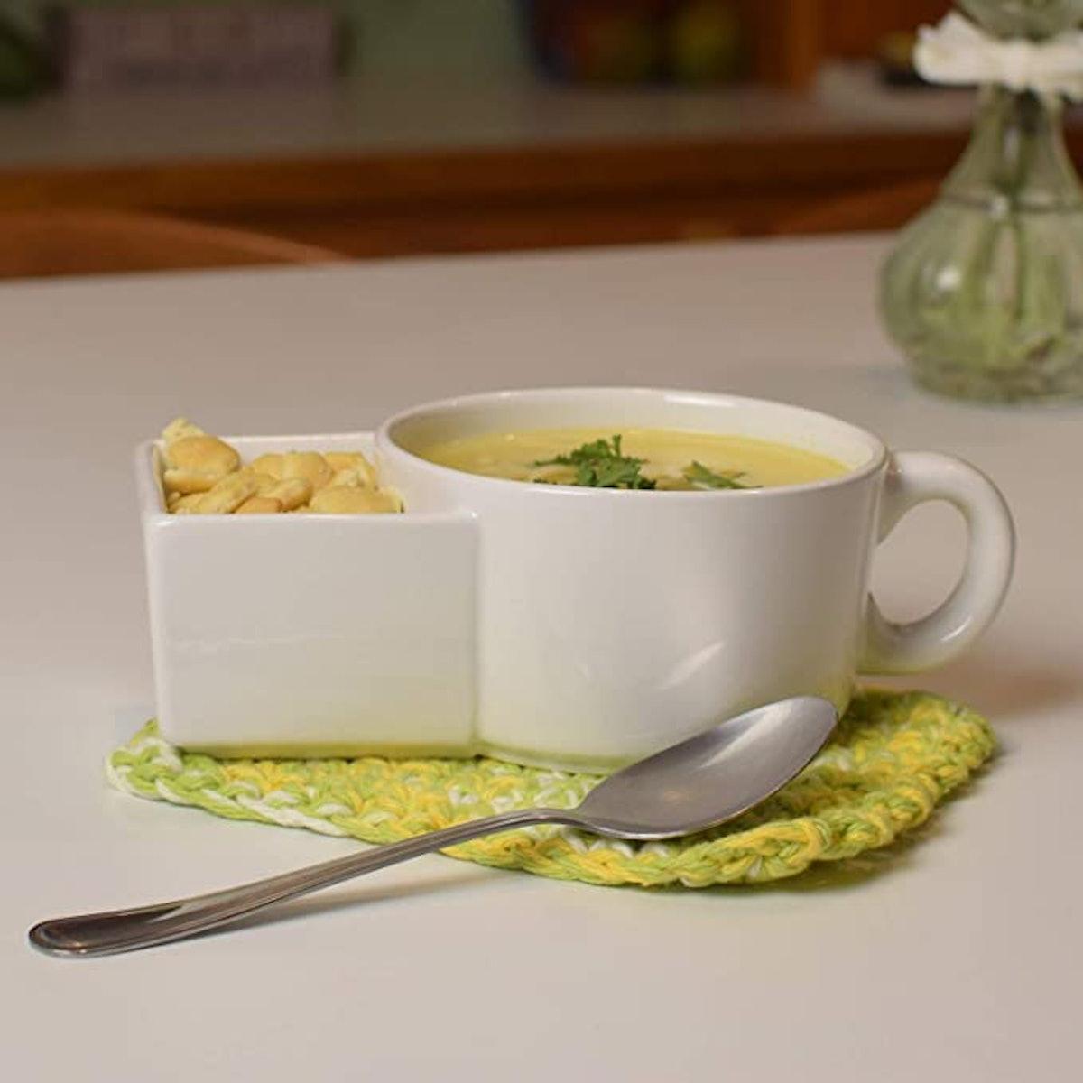 Kitchen Gadgets Soup and Cracker Mug or Cereal Bowl
