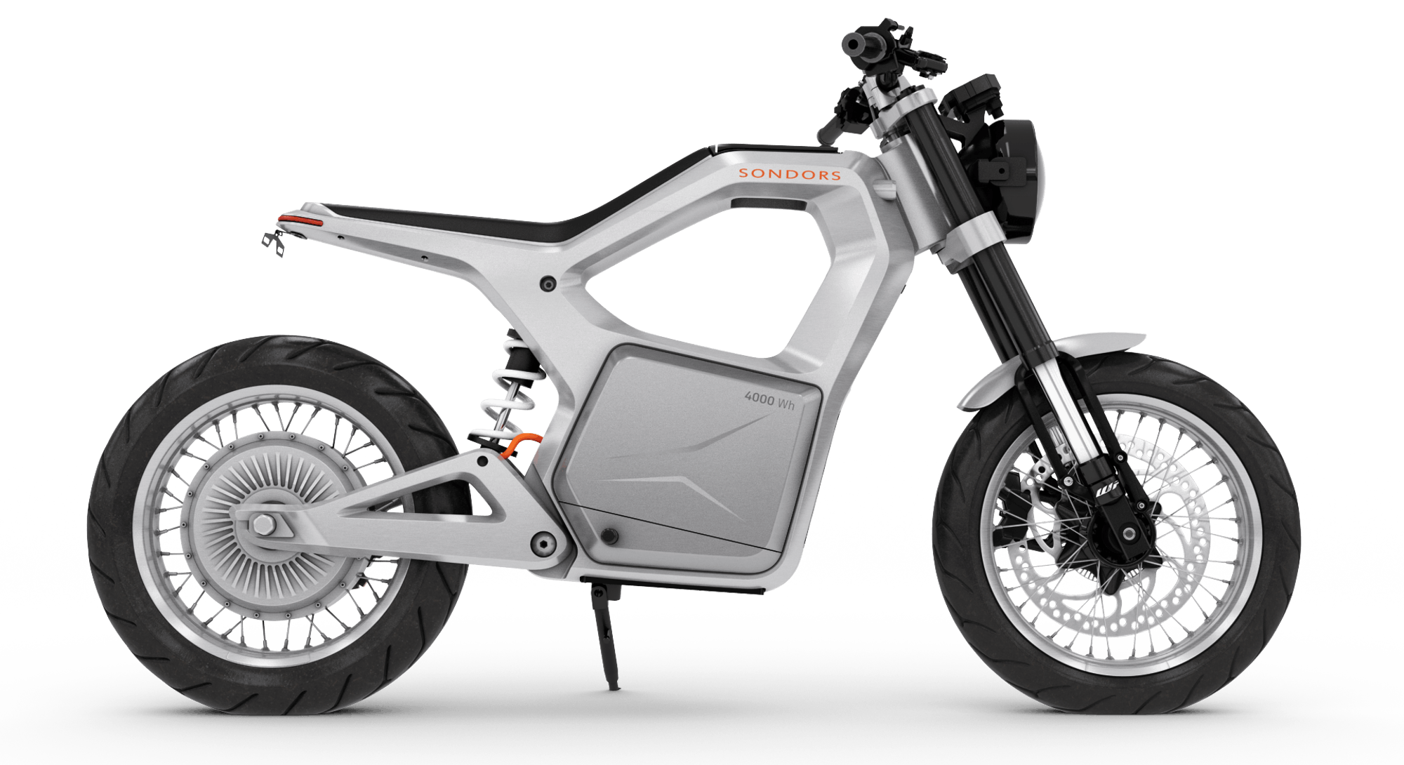 The Sondors Metacycle, an affordable electric motorcycle.