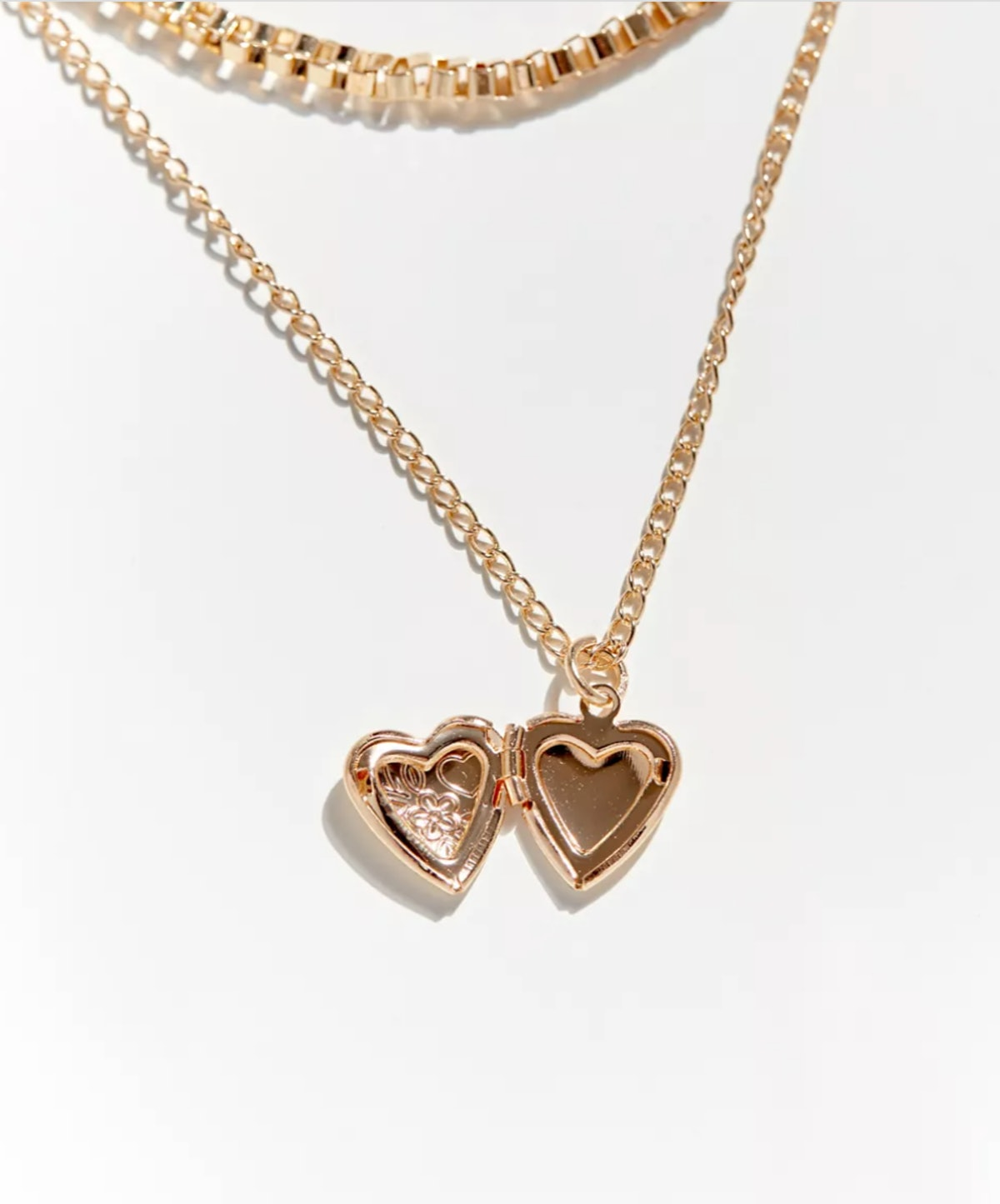 Urban Outfitters Locket Layer Necklace