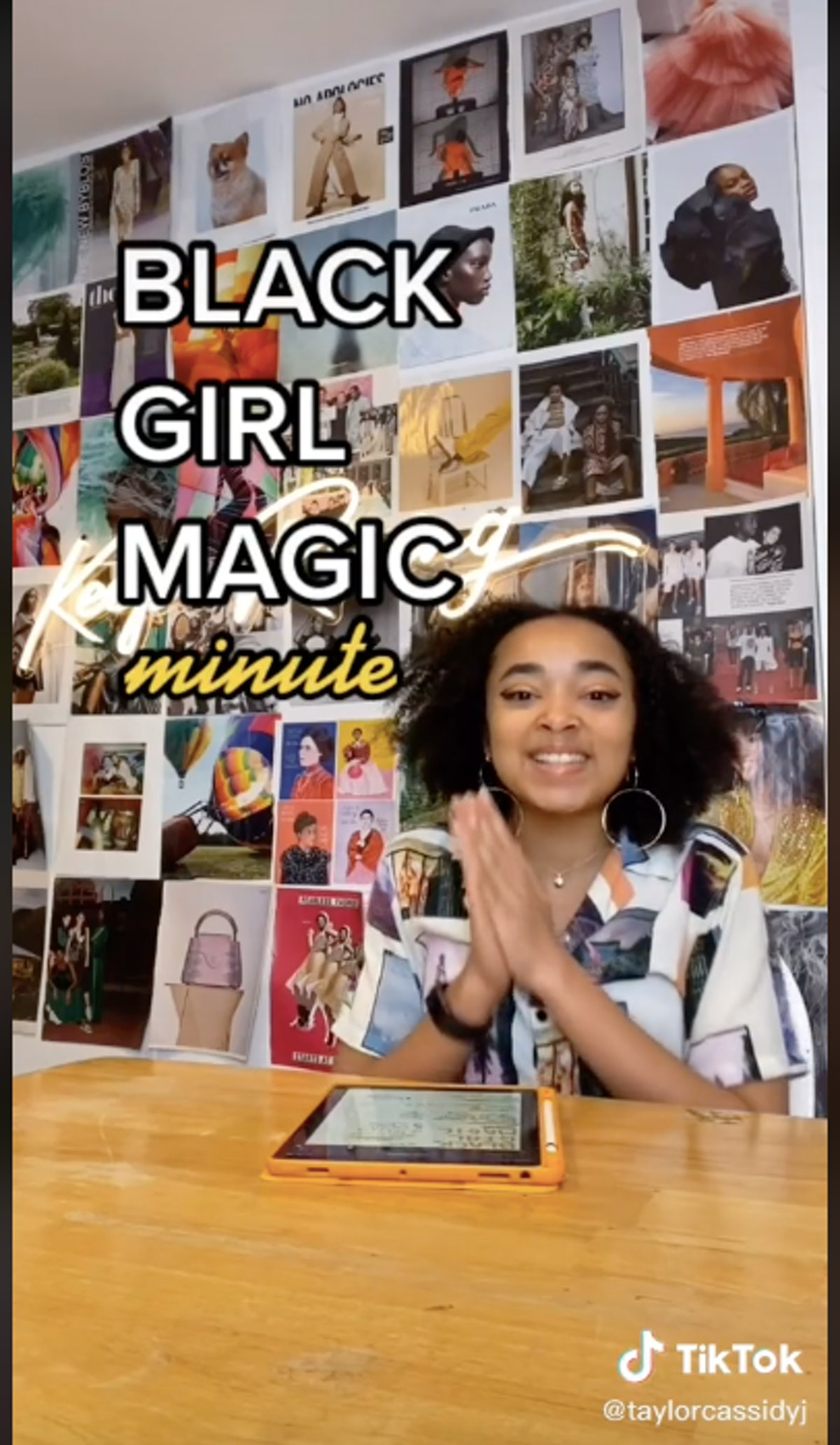 """Taylor Cassidy shouts out creators and followers in """"Black Girl Magic Minute.'"""