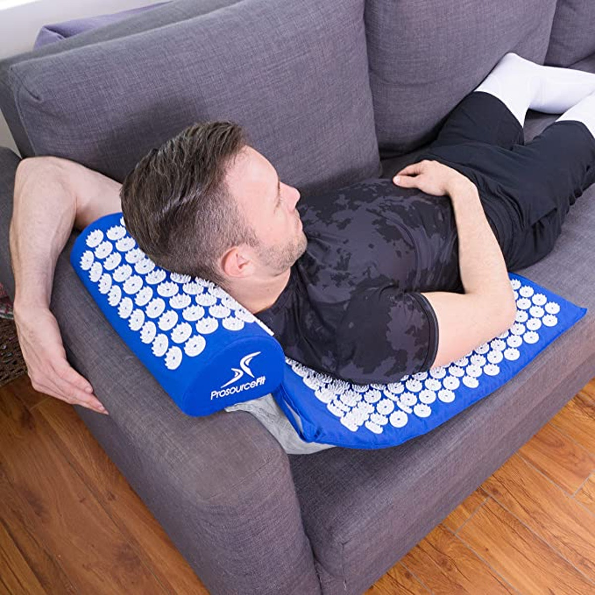 ProsourceFit Acupressure Mat Pillow Set