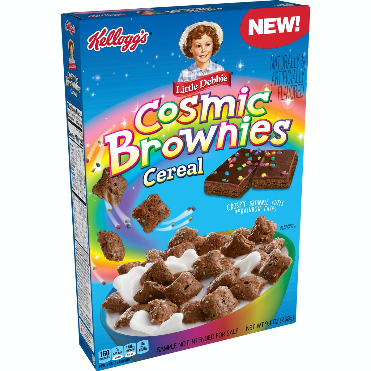 Kellogg's Little Debbie Cosmic Brownies Cereal will hit shelves in May 2021.