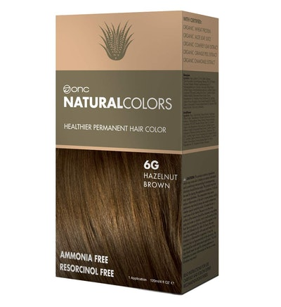ONC NATURALCOLORS Healthier Permanent Hair Dye
