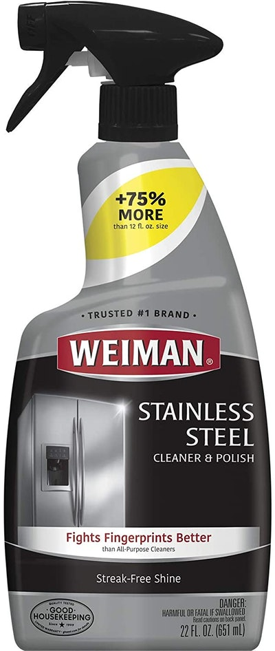 Weiman Stainless Steel Cleaner and Polish (22 Ounces)