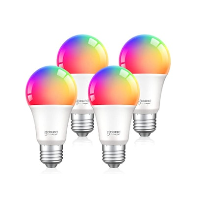 TanTan Alexa Smart Light Bulbs (4-Pack)