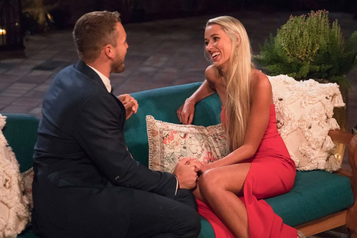 The Bachelor Colton Underwood and Heather Martin chat on Season 23