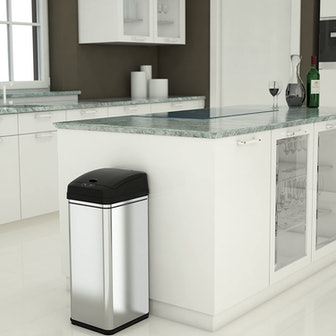 iTouchless Automatic Trash Can with Filter