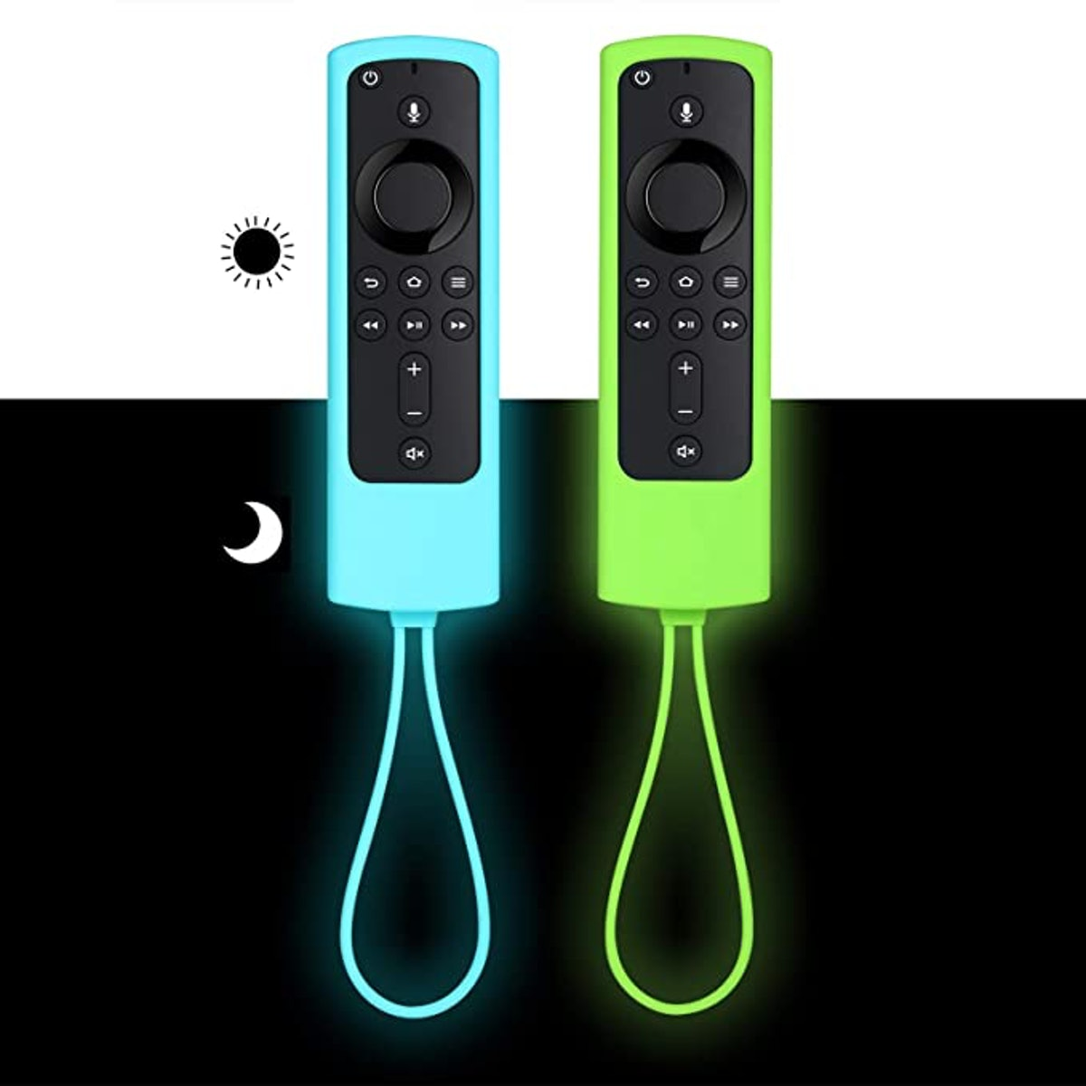 ZYF Firestick Remote Cover Glow (2-Pack)