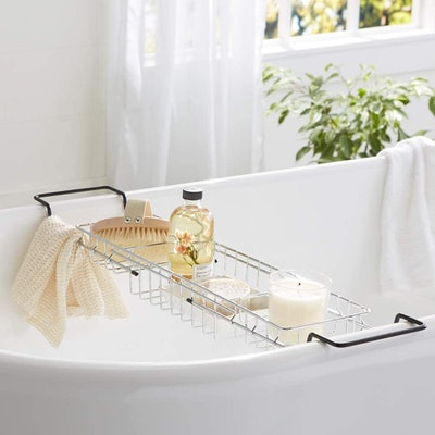 Amazon Basics Wire Bathtub Caddy Tray