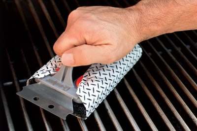 Proud Grill Company Q-Swiper BBQ Grill Cleaner Set (Pack of 25)