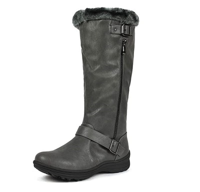DREAM PAIRS Fur-Lined Knee High Boots