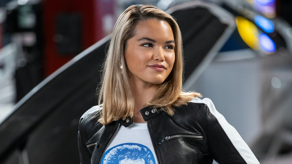 Paris Berelc said Netflix's 'The Crew' marked a shift away from young adult shows like 'Alexa and Katie' in her career.