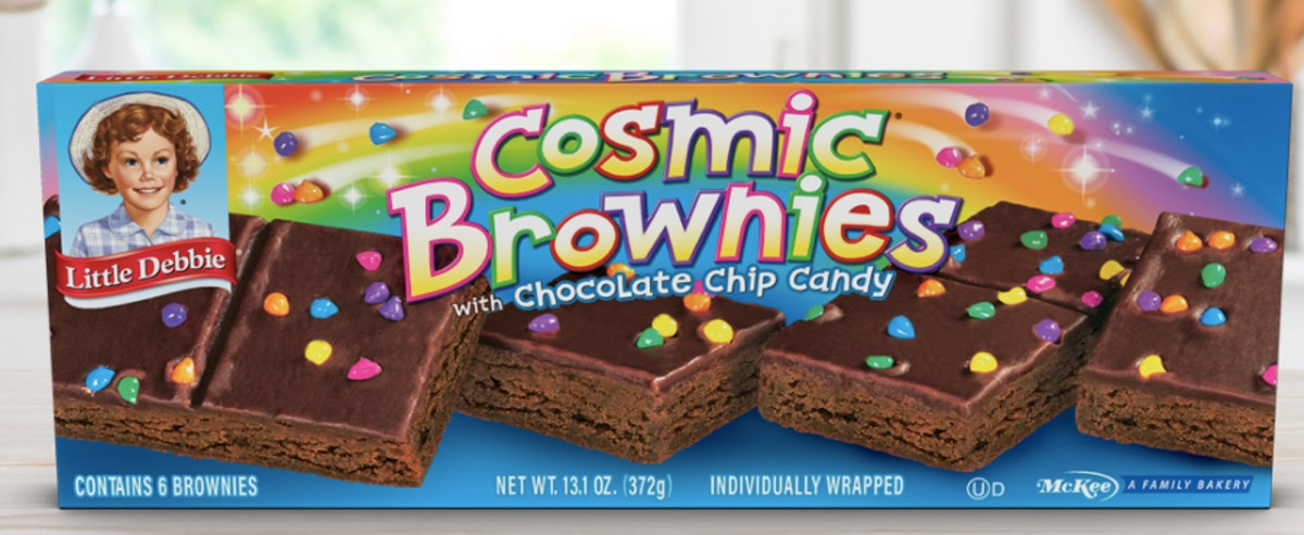 Kellogg's is turning Little Debbie Cosmic Brownies into cereal, and it will hit shelves in May 2021.