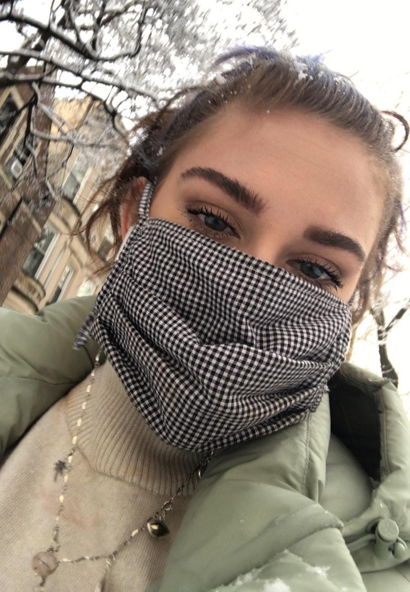 Kelsey Stewart's eyebrows.