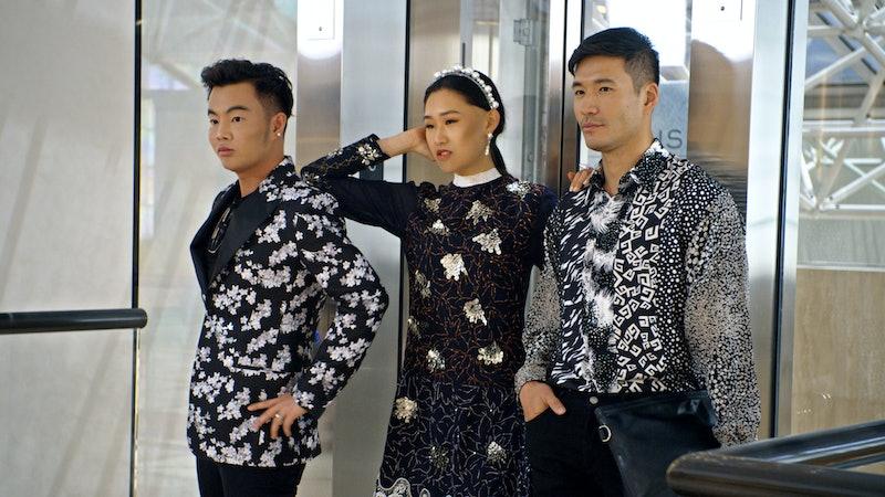 Kane Lim, Jaime Xie and Kevin Kreider in Bling Empire via the Netflix press site