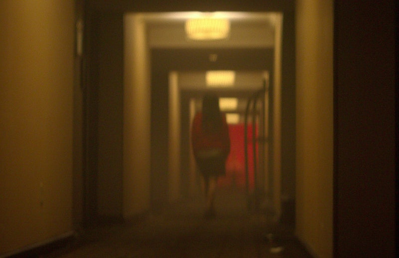 Elisa Lam footage in 'Crime Scene,' via Netflix press site.