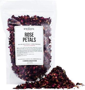 Better Shea Butter Dry Rose Petals