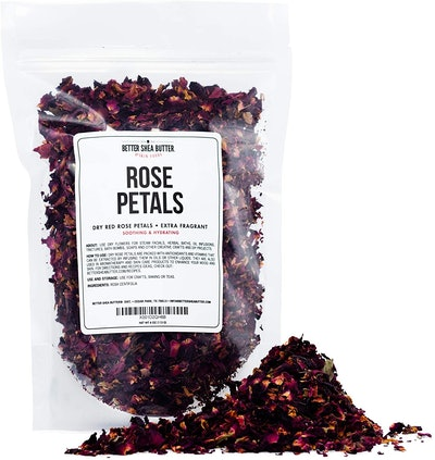 Better Shea Butter Dry Rose Petals