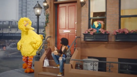 Daveed Diggs and Big Bird starred in a Super Bowl commercial on Sunday.