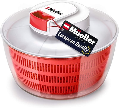 Mueller Salad Spinner with QuickChop Pull Chopper