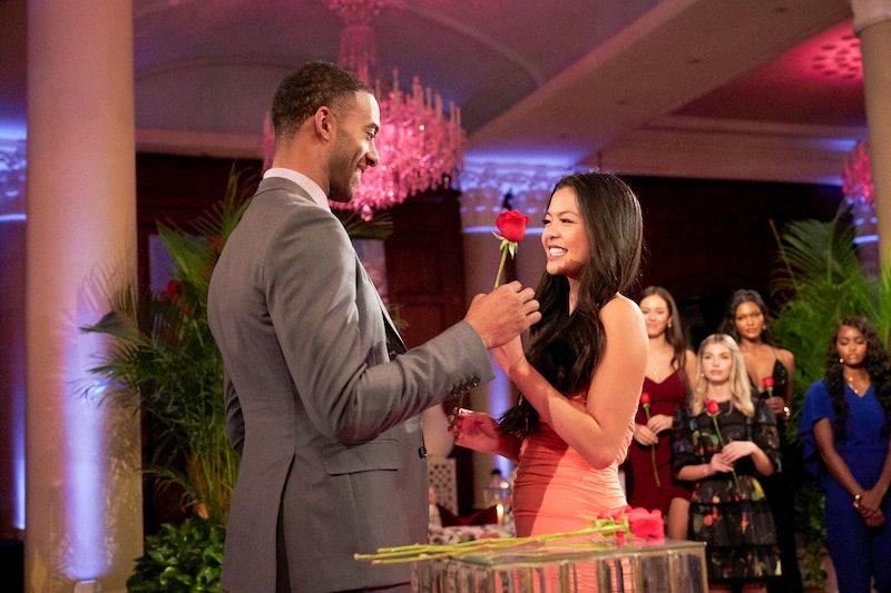 Serena C. and Matt James on 'The Bachelor'