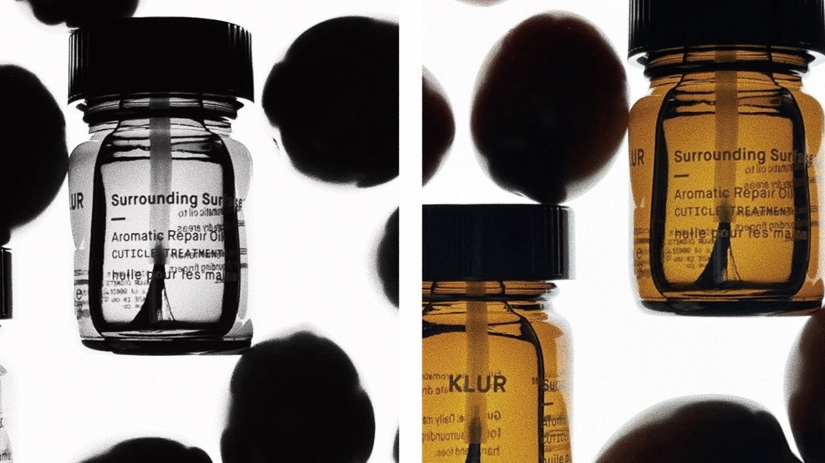 Klur's new Surrounding Surfaces Hand and Cuticle Oil.