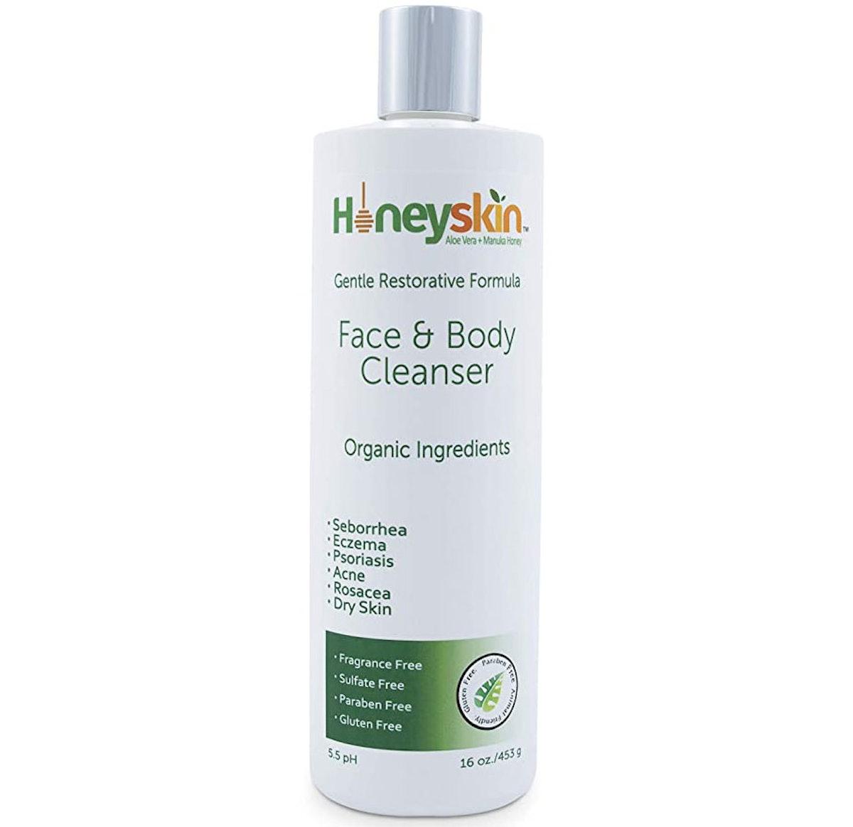 Honeyskin Face & Body Cleanser
