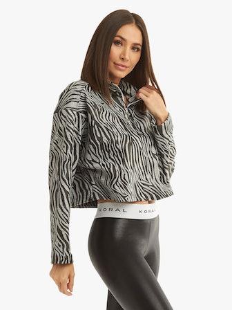 Adora Zebra Sweatshirt