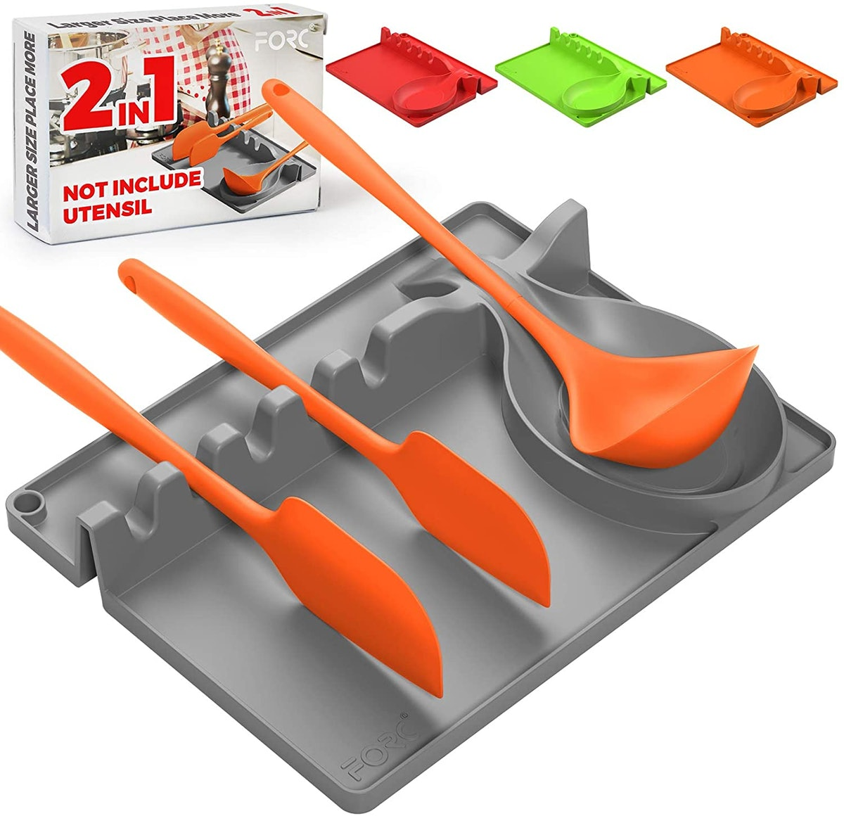 Forc Silicone Utensil Rest