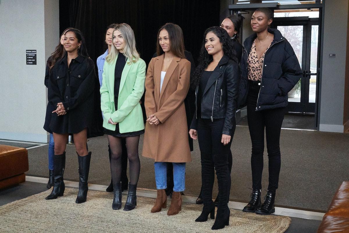 Group of contestants on Matt's 'Bachelor' Week 6