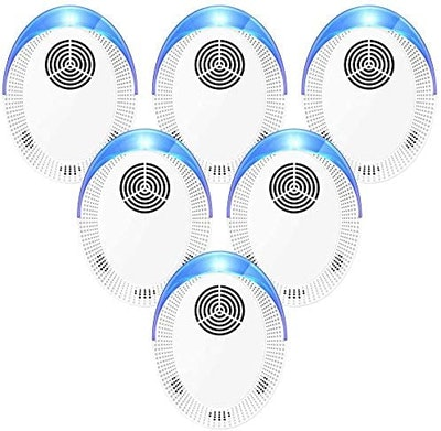 Bocianelli Ultrasonic Pest Repeller (6-Pack)