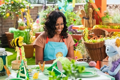Michelle Obama will be featured on her new children's show, Waffles + Mochi