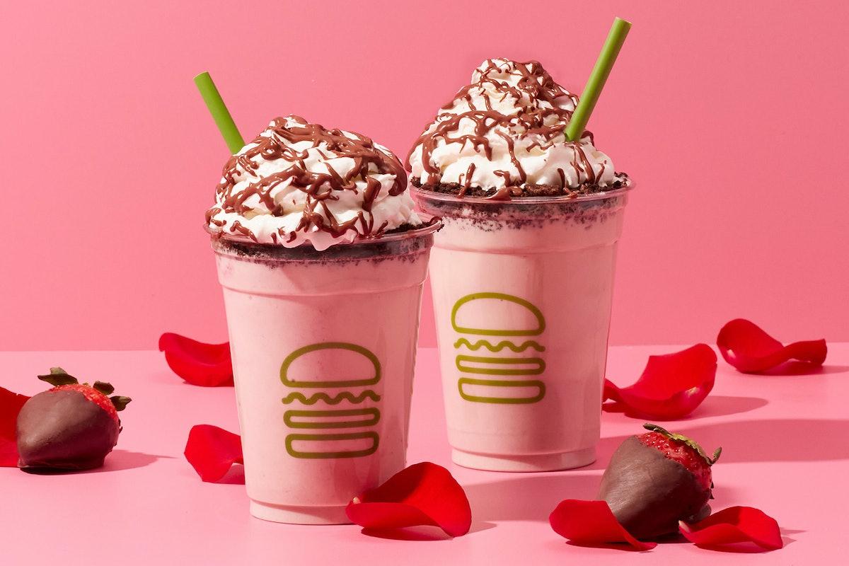 Shake Shack is releasing a Valentine's shake inspired by Boyz II Men.