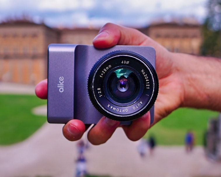 The Alice Camera is an AI-powered full-size camera.