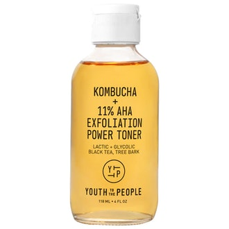 Kombucha + 11% AHA Exfoliation Toner with Lactic Acid