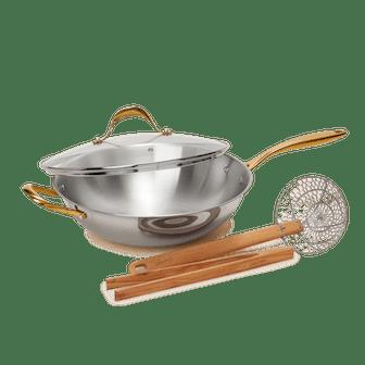 Pepper's Wok & Tool Set