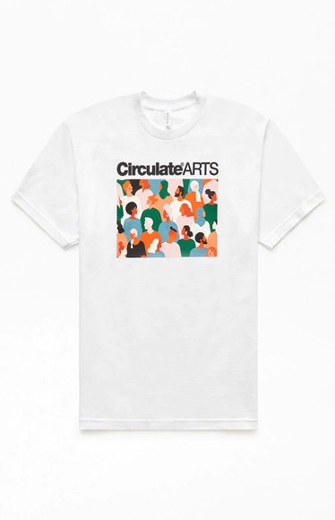 Circulate Arts For Charity T-shirt