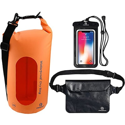 Freegrace Waterproof Dry Bags (10 Liter)