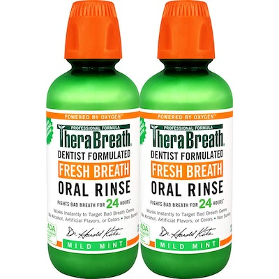 TheraBreath Mild Mint Oral Rinse (2 Pack)