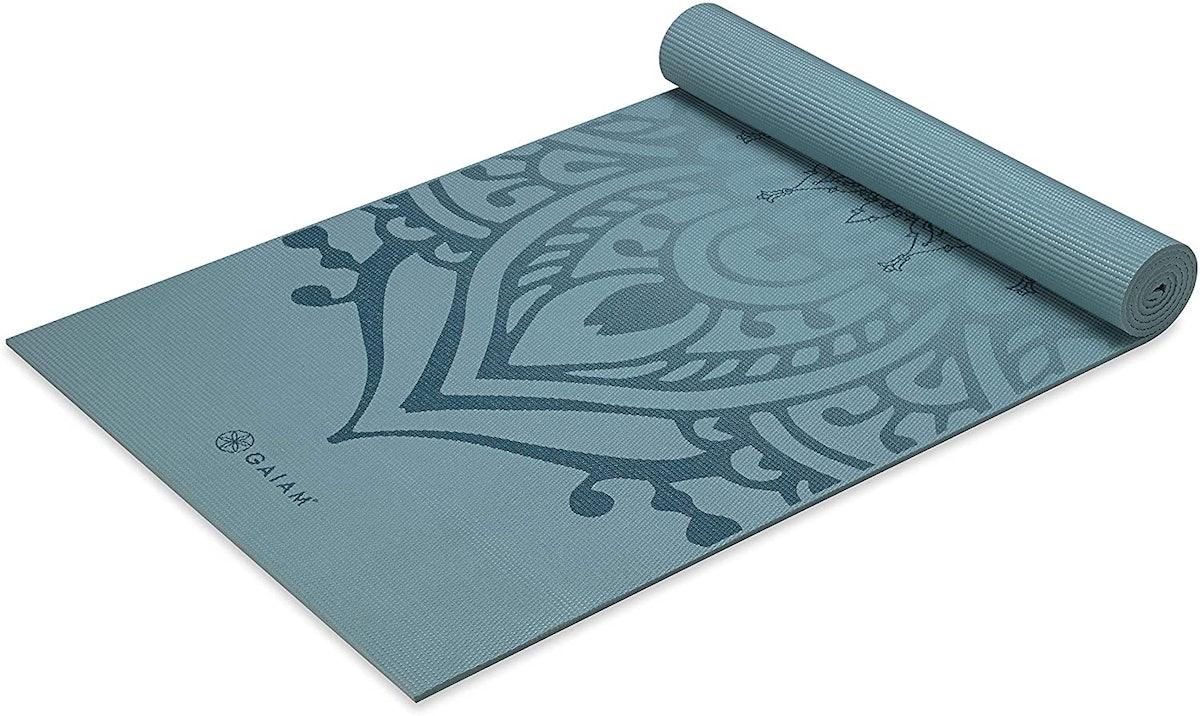 Gaiam Extra-Thick Yoga Mat