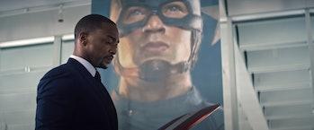 Captain America Falcon and the Winter Soldier
