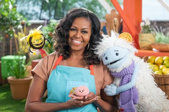 Michelle Obama's children's show, 'Waffles + Mochi' premieres on March 16.